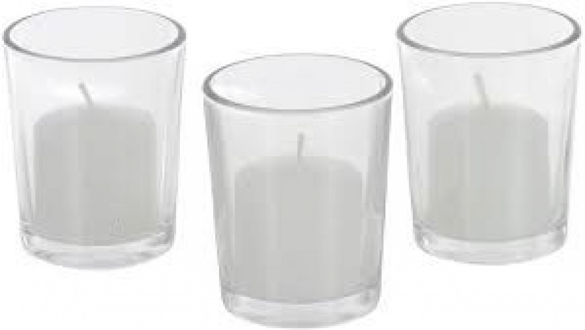 Glass Votives (10cm) in the Hire Glassware category