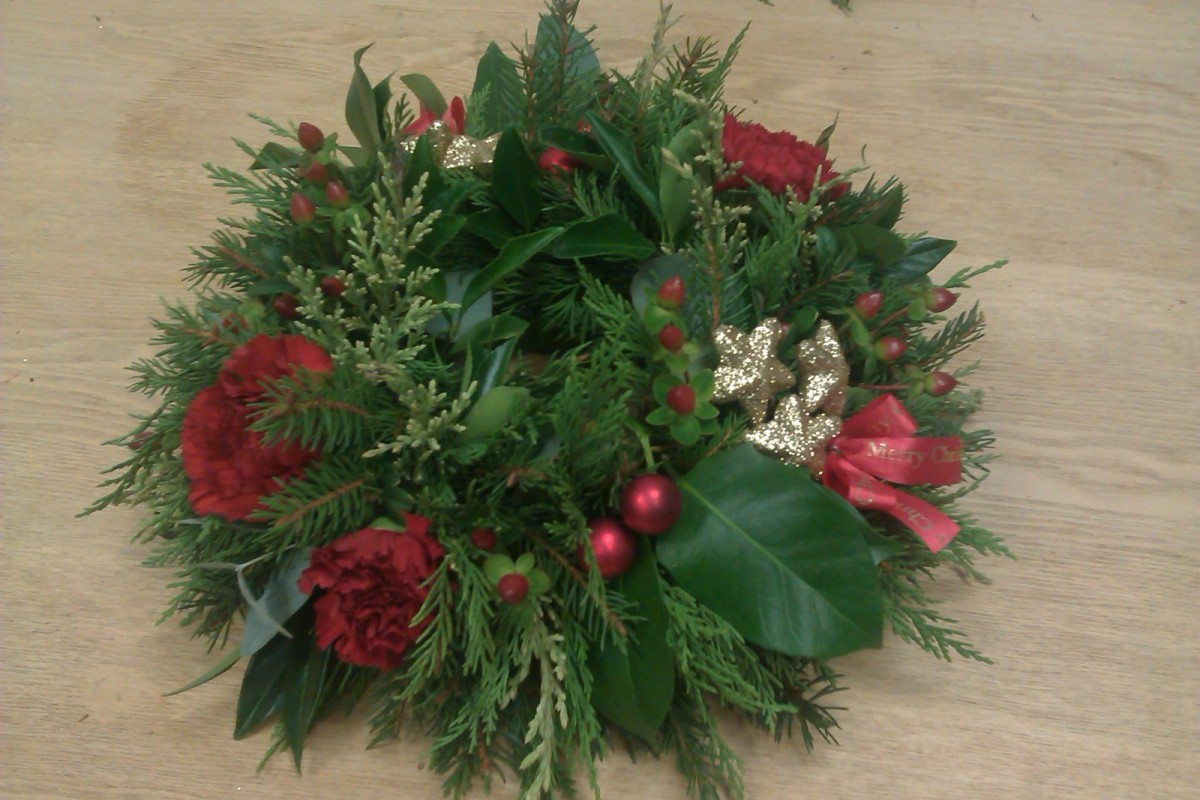 in the Christmas Arrangement Workshop category
