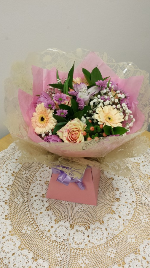 Raspberry Ripple - £25.00 in the Mothers Day Bouquets category