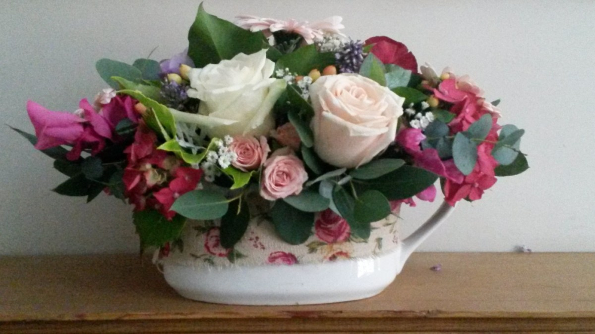 The Rose Bowl in the Oasis Arrangements category