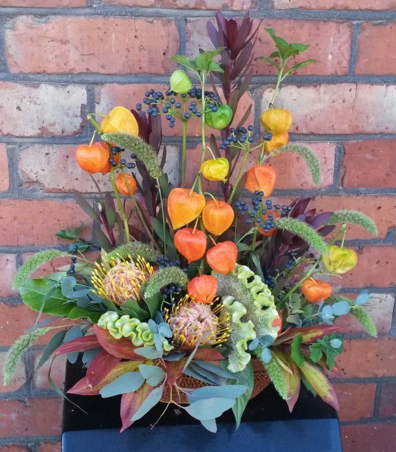 Autumn Lantern in the Oasis Arrangements category