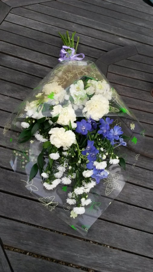 Blue Eyes - From £20.00 in the Sympathy Bouquets category