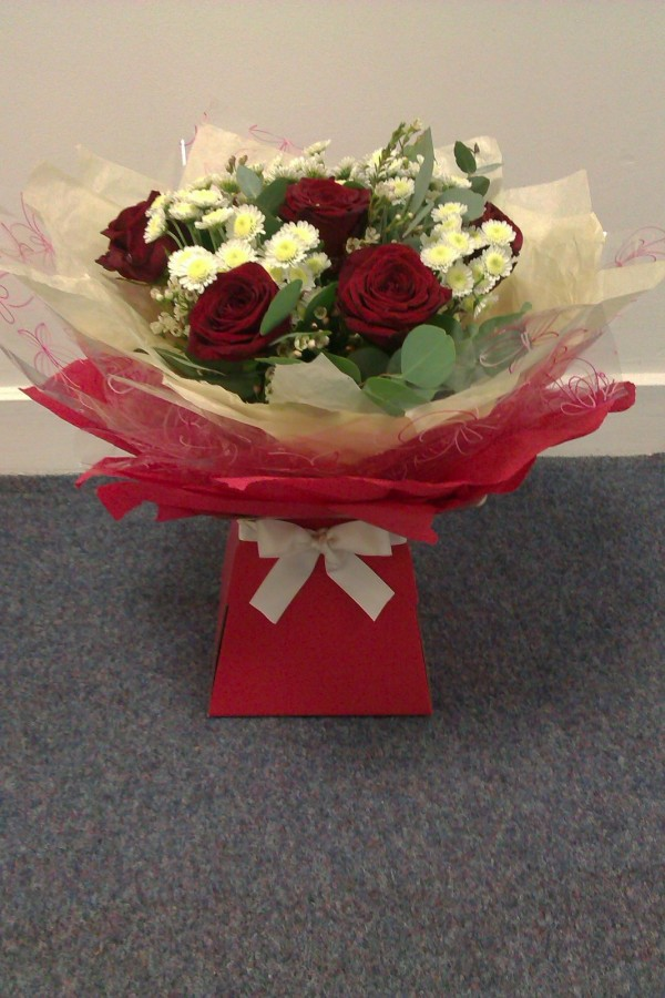 Ruby, Ruby - £35.00 in the Valentine Bouquets category