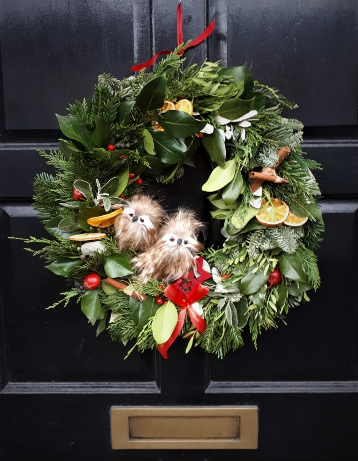in the Christmas Wreath Workshop category