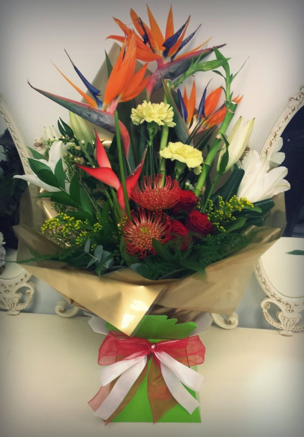 in the Deluxe Speciality Bouquets category