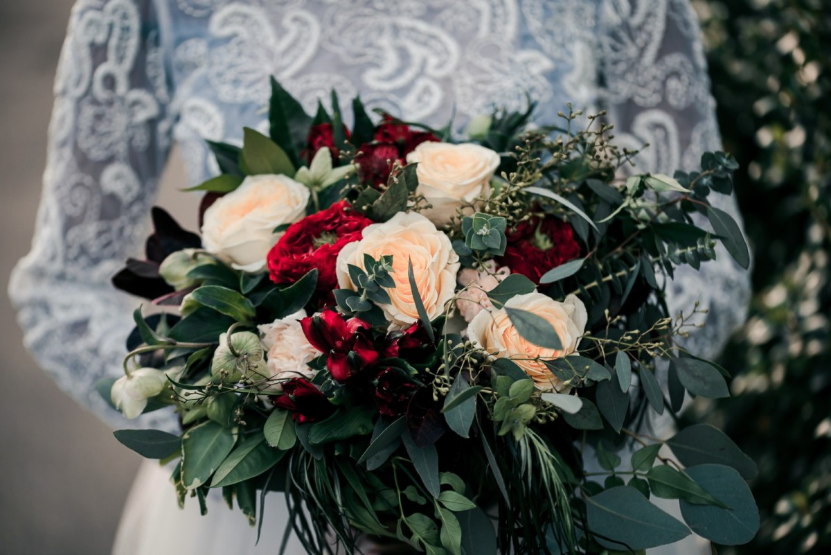 wild rustic Boho in the Wedding Bouquets category