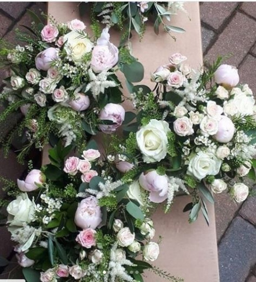 Pastel Peony and rose in the Wedding Bouquets category